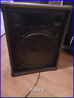 12 inch pa speakers