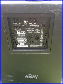 2 X Alto Truesonic Pro Tssub18 18 Inch Active Subwoofer