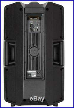 2 x RCF ART 715-A Mk4 Active 700W RMS 15 inch PA Speakers RCF ART 715 A