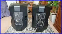 2 x Yamaha DXR15 15 inch Active Loudspeakers