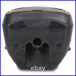 2x 12 Inch Professional DJ PA Disco Party Active Sound System Speakers 1200W