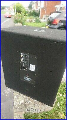 2x QTX Sound QT18SA 1000W Active 18 inch Sub Cabinets