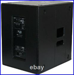 2x dB Technologies SUB 615 active 15-inch subwoofer, 600W, (Pair) With Covers