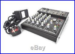 Active Twin 15 inch PA Speaker 4800w Peak BLUETOOTH + FREE MIXER 15 DJ Karaoke