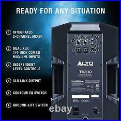 Alto Professional TS310 2000 Watt 10 Inch 2 Way Powered PA Speaker with Int