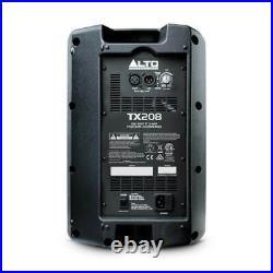 Alto TX208 300 Watt 8 inch Powered PA Speaker (Single Unit) New Item UK Seller
