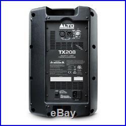 Alto TX208 (Single) 8 Inch Active PA Speaker