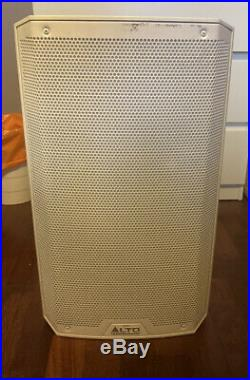 Alto Truesonic TS212 12 inch 2-Way Powered Loudspeaker White With Cover