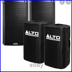 Alto Truesonic TS312 12 inch 2000 watt speakers Inc Alto Covers