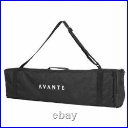 Avante Audio AS8 Lightweight Portable PA Speaker set with 8-inch Active Subwoofer