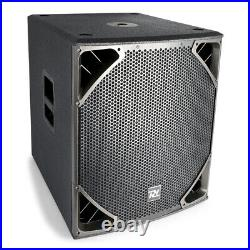 B-Stock Active Powered PA SubWoofer 18 inch HIgh Pass Bass Speaker 1400W DJ
