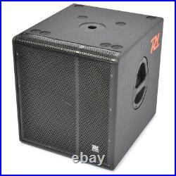 B-Stock Power Dynamics 15 Inch Active Subwoofer Speaker Deep Sub Bass DJ Club