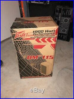 BRAND NEW PEAVEY DARK MATTER 115 Two-Way 15inch PA Speaker DM115