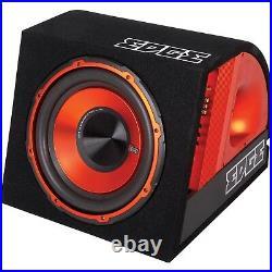Edge Audio EDB10A Car 10 inch Active Amplified Subwoofer Sub Bass Box Enclosure