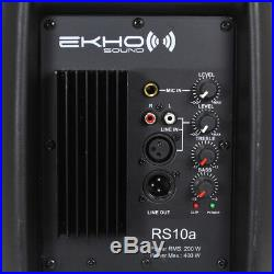 Ekho RS10A 10 Inch Active PA Speaker 400W