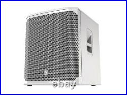 Electro-Voice ELX20018SPW 18 inch Powered Subwoofer (White)