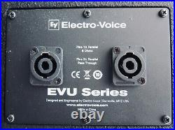 Electro-Voice EVU1062/95BLK PAIR 6.5 inch 2-Way Fill Speaker Black