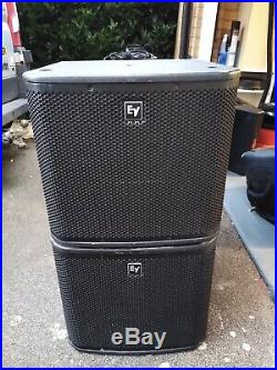 Electro Voice ZXA1 12-inch Active Sub Woofer 700W (2 speakers in total)