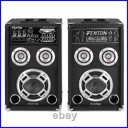 Fenton 178.403 6.5 Inch Active Passive Bluetooth Party Speakers 400W