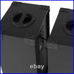 Fenton 178.440 SPB-10 10 Inch Powered Bluetooth Speaker Set 600W