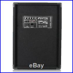 Fenton 178.480 15 Inch Active DJ Speaker 800W