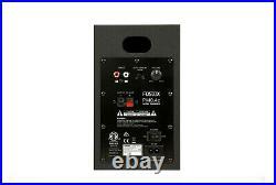 Fostex PM0.4c White Active Powered 4 inch Speaker System Pair