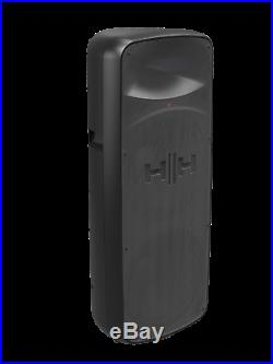 HH Electronics VRE-215A Active Loudspeaker 2 x 15 Inch 900W & 3 Ch Mixer 60% OFF