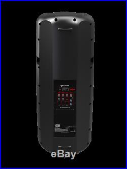 HH Electronics VRE-215A Active Loudspeaker 2 x 15 Inch 900W inc 3 Ch Mixer 30864