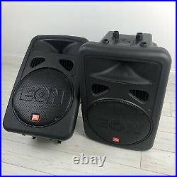 JBL EON 15 G2 Active Powered PA Speakers 3 Input 15 Inch 400 Watt (PAIR)