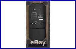 Jamo S808 SUB Subwoofer WALNUT Theatre 8 Inch Powered Active Sub Speaker Power