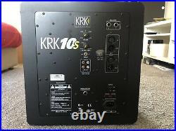 KRK 10S2 10 inch Subwoofer Black