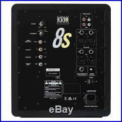 KRK 8s2 8 Inch Active Subwoofer Monitor Speaker 109W