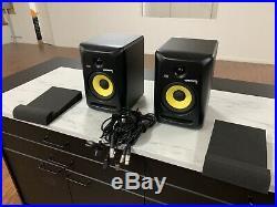 KRK RP6-G3 Rokit Powered 6 Inch Studio Reference Monitor RP6G3 Active Speaker