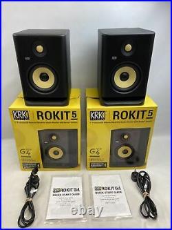 KRK Rokit G4 5 inch Pro Studio Monitor Black Pair