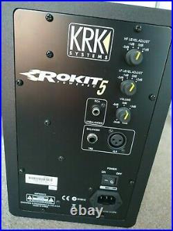 KRK Rokit RP5 G3 5 inch Studio Monitor Black