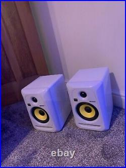 KRK Rokit RP5 G3 5 inch Studio Monitors (Pair) WHITE Edition