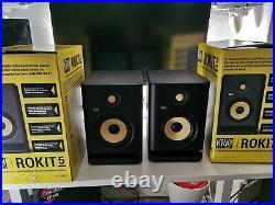 KRK Rokit RP5 G4 5 inch Studio Monitor Black Pair
