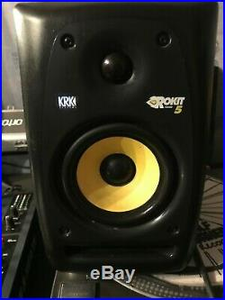 KRK Rokit RP5 G4 5 inch Studio Monitor Black SINGLE
