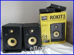 KRK Rokit RP5 G4 5 inch Studio Monitors Pair