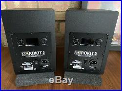 KRK Rokit RP5 G4 5 inch Studio Monitors- (Pair) Black New Opened Never Used