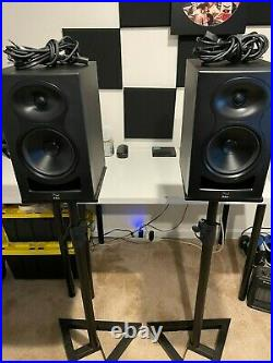 Kali Audio LP-6 6.5 inch Powered Studio Monitor (PAIR with OnStage Stands)