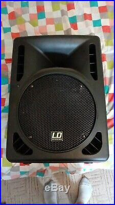 LD Systems PRO 12 A 12 inch PA Lautsprecher aktiv, 250 Watt RMS 122 dB