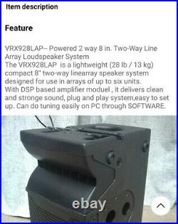 LINE ARRAY ACTIVE VRX928LAP 8 inch Powered Speaker Built-in Amp (4 AVAILABLE)