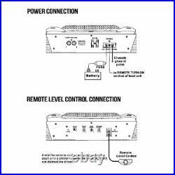 Low Profile Marine Subwoofer System 1000 Watt 8 Inch Slim Active Waterproof Am