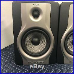 M-AUDIO BX5 CARBON 5-INCH BiAMPLIFIED STUDIOPHILE STUDIO MONITOR SPEAKERS
