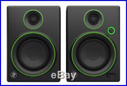 Mackie CR4 4 inch Multimedia Monitors (Pair) (NEW)