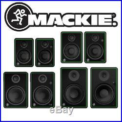 Mackie CRX-BT Professional DJ Studio Bluetooth 50W 160W RMS Monitor Speakers