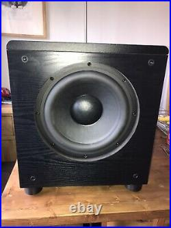 Mackie Hrs120 12 12 Inch Active Studio Subwoofer Rare