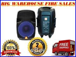 Mr. Dj PBX2659S 15-Inch 2000 Watts Max Peak Momentary Full Range Passive Speaker