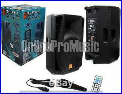 Mr. Dj PM-2880BAT 15-Inch 3500 Watt Max Power Speaker